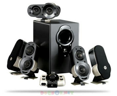 Bộ loa Logitech G51 Surround Sound Speaker System 5.1