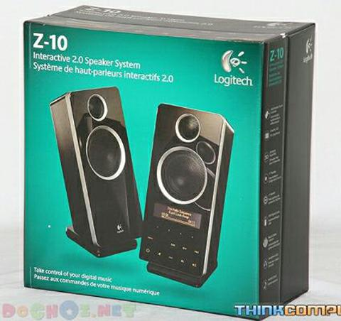 Bộ loa Logitech Z-10 Interactive Speaker System 2.1 - See it. Touch it. Hear it.