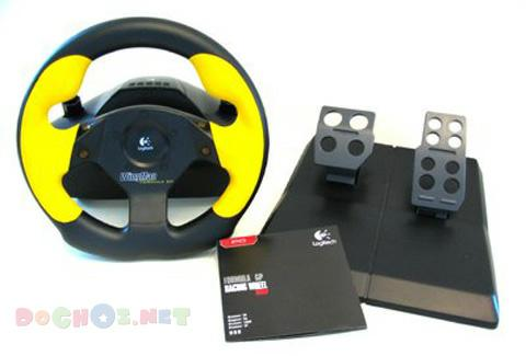 Logitech WingMad Formula Force GP Wheel Joystick