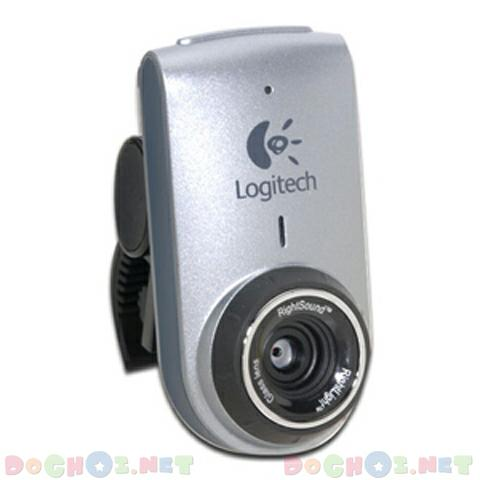 Webcam Logitech QuickCam® for Notebooks Deluxe