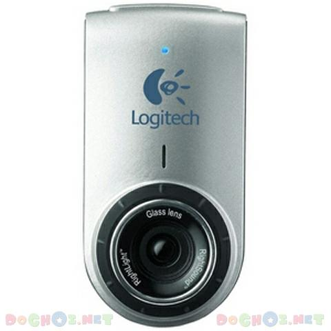 Webcam Logitech QuickCam® for Notebooks Deluxe - Stylish Design with Glass-Element Lens Performance to Match.